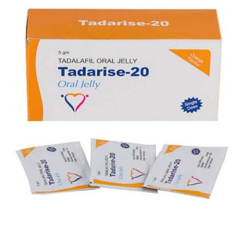 Tadarise-20 (Tadalafil) oral jelly