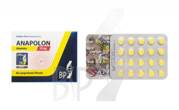 Anapolon [Anadrol 50] (Oxymetholone)