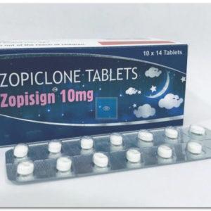 Zopiclone (Imovane, Zopisign) 10 mg